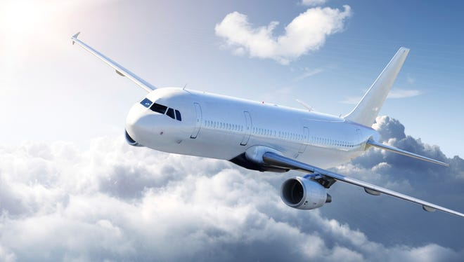 A jet airliner cruising at 30,000 feet may be able to glide as far as 100 miles if all engines failed in flight.