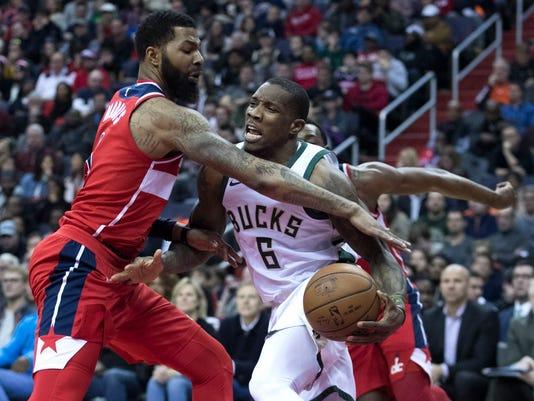 Milwaukee Bucks at Washington Wizards
