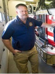 David Scibek, former chief of the Malletts Bay Fire