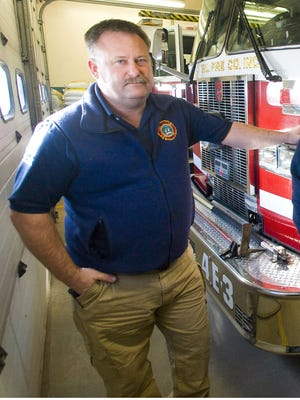 David Scibek, former chief of the Malletts Bay Fire Department, seen on Sunday, March 27, 2011 in Colchester.