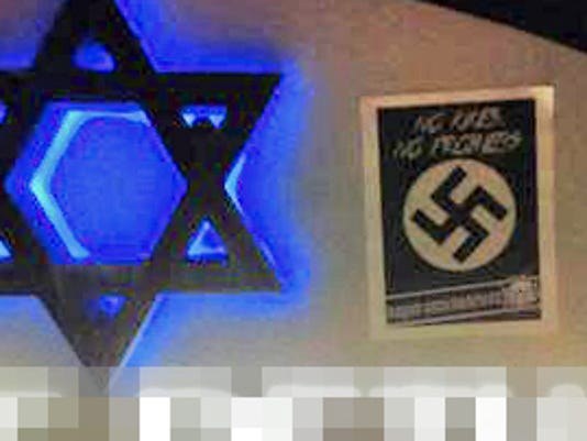 636553574370563440-Aryan-Underground-poster-at-synagogue.jpg