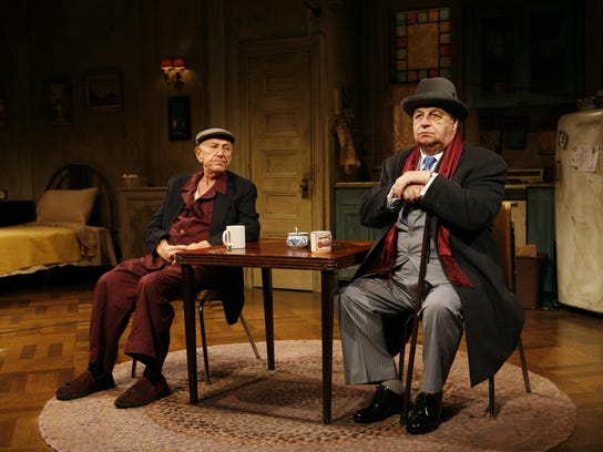"""Jack Klugman (left) and Paul Dooley starred in """"The"""