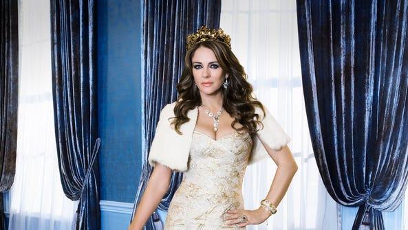 Elizabeth Hurley plays Queen Helena on E!'s 'The Royals.'