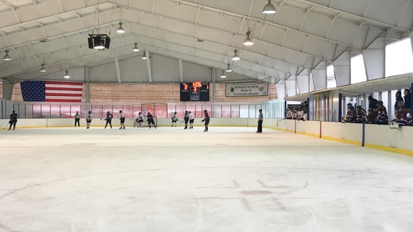 Ebersole Ice Rink in White Plains, N.Y.