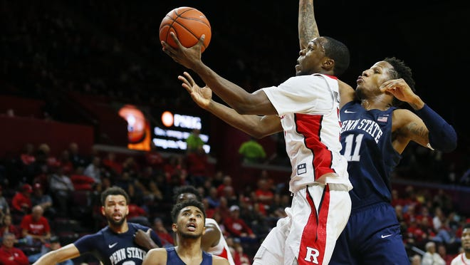 Junior guard Mike Williams leads Rutgers in scoring at 12.1 points per game. He's been the Scarlet Knights' only consistent 3-point-shooting threat during an 11-4 start.