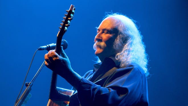 David Crosby's first solo studio album since 1993 features many guests and his still-fine tenor voice.