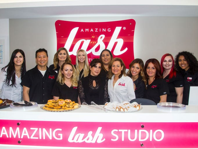 Lash Crew with Real Housewives of New Jersey star Jacqueline
