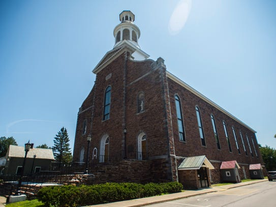 Co-Cathedral of Saint Joseph on Allen Street in Burlington's Old North End is hosting a temporary youth homeless shelter this winter.