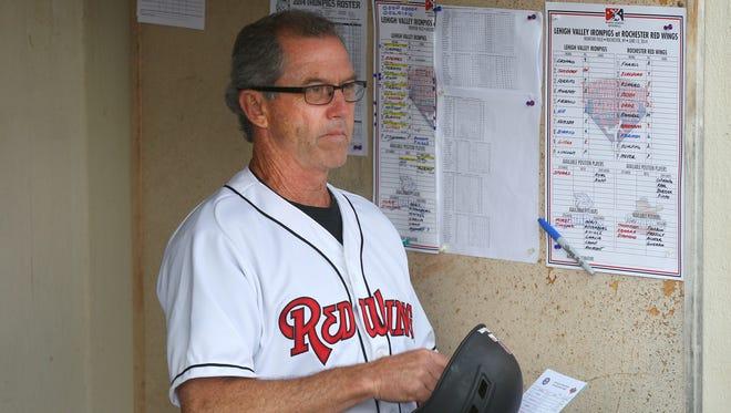 Wings manager Gene Glynn.