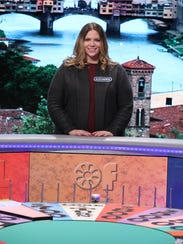 Alexandria Gallager on Wheel of Fortune