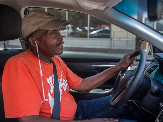 Uber driver Jackie Sanford, a former Allstate agent, says the company saved his life after he had difficulty adjusting to retirement.