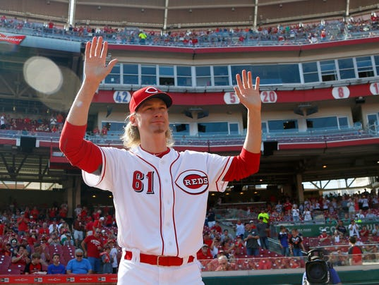MLB: Boston Red Sox at Cincinnati Reds
