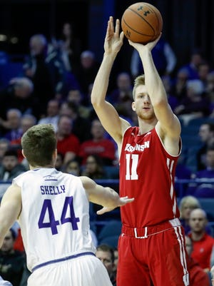 Andy Van Vliet averaged 3.4 points and 1.4 rebounds per game this season.