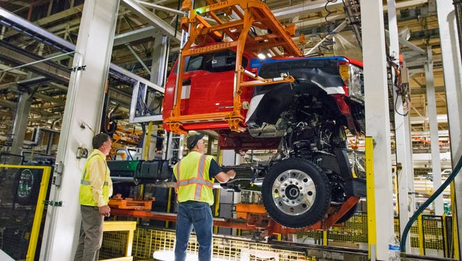 Ford announced a $200 million investment in Ohio Assembly plant to build Super Duty chassis cabs on Tuesday, April 26 2016.
