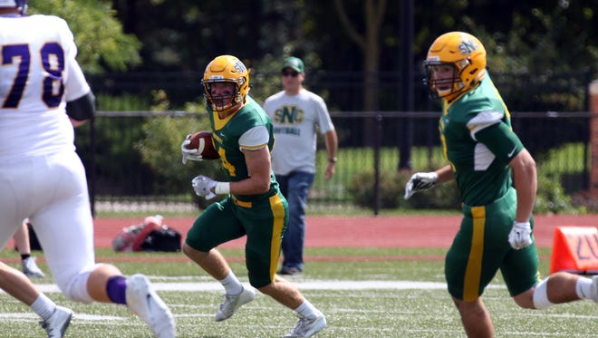 St. Norbert College senior Ryan Grandlic is a third-year starter at safety and leads the team with 26 tackles through three games this season.
