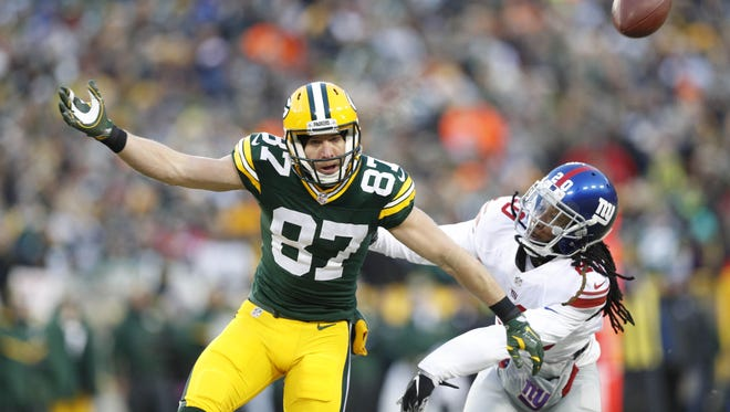 Packers wide receiver Jordy Nelson caught 97 passes for 1,257 yards and 14 touchdowns in 2016.