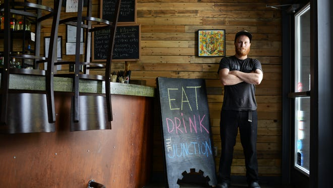 Chad Kelly and his sous chef have an upcoming wine dinner at The Junction.