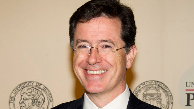 Stephen Colbert is David Letterman's replacement on CBS's 'Late Show'