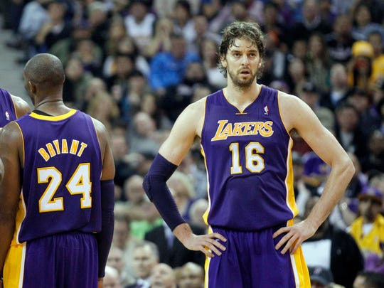 2008: Pau Gasol to Los Angeles.