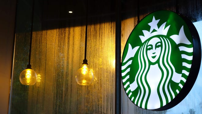 A Starbucks sign in Washington, DC. Two lawsuits against the company were featured on the U.S. Chamber Institute for Legal Reform's Top Ten Most Ridiculous Lawsuits of 2016 list.