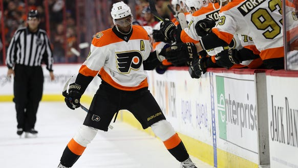 Wayne Simmonds will head to Los Angeles later this