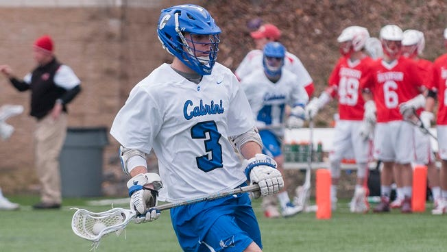 Evan Downey of Palmyra has been a consistent scorer in men's lacrosse for Cabrini College.