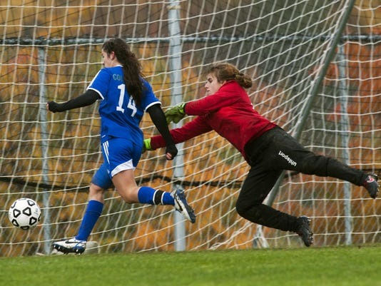 Colchester vs. CVU Girls Soccer 10/17/15
