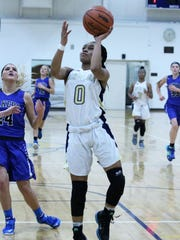 Junior guard Kaela Webb contributed 20 points for Detroit Country Day in a 69-52 victory over Goodrich.