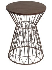 This wood and metal table was $39.97 at nordstromrack.com the other day.