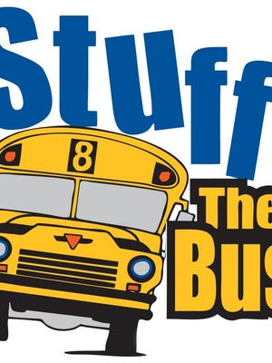 """The Cheatham County School District's first """"Stuff the Bus"""" event aims to help provide local children with new notebooks, backpacks, pencils and other school supplies."""