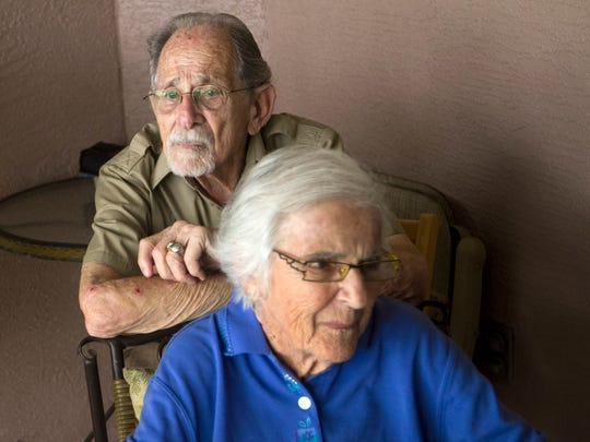 Will Needleman and his wife, Mildred, have been married for 65 years. Since her diagnosis with Alzheimer's, he has become increasingly lonely and misses carrying on meaningful conversation.