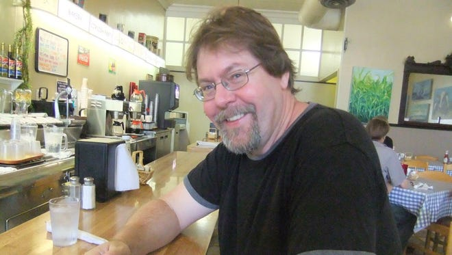 Alex Bledsoe is the author guest of honor at this weekend's RoberCon, to be held at the Roberson Museum and Science Center.