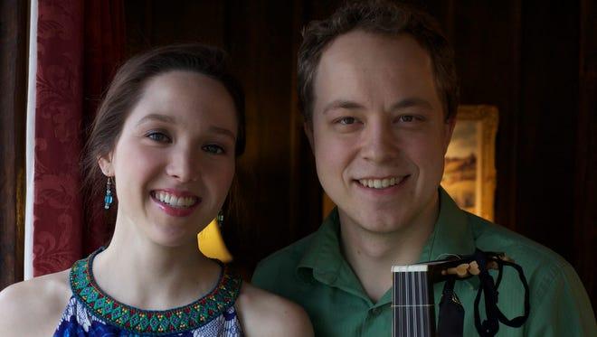 Kayleen Sánchez and Laudon Schuett.