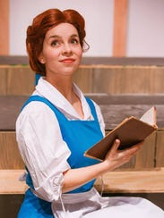 At the Quincy Music Theatre, Belle is played by actress