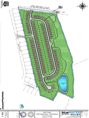 A site map for an affordable housing development proposed