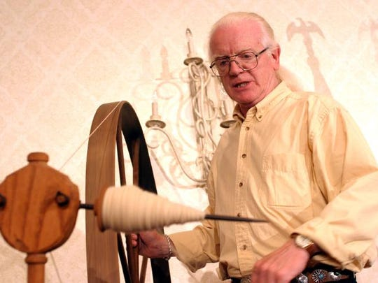 Norman Kennedy, weaver, singer and storyteller, will be a feaatured performer at the upcoming Primo Maggio celebration. Featured Performer 2016