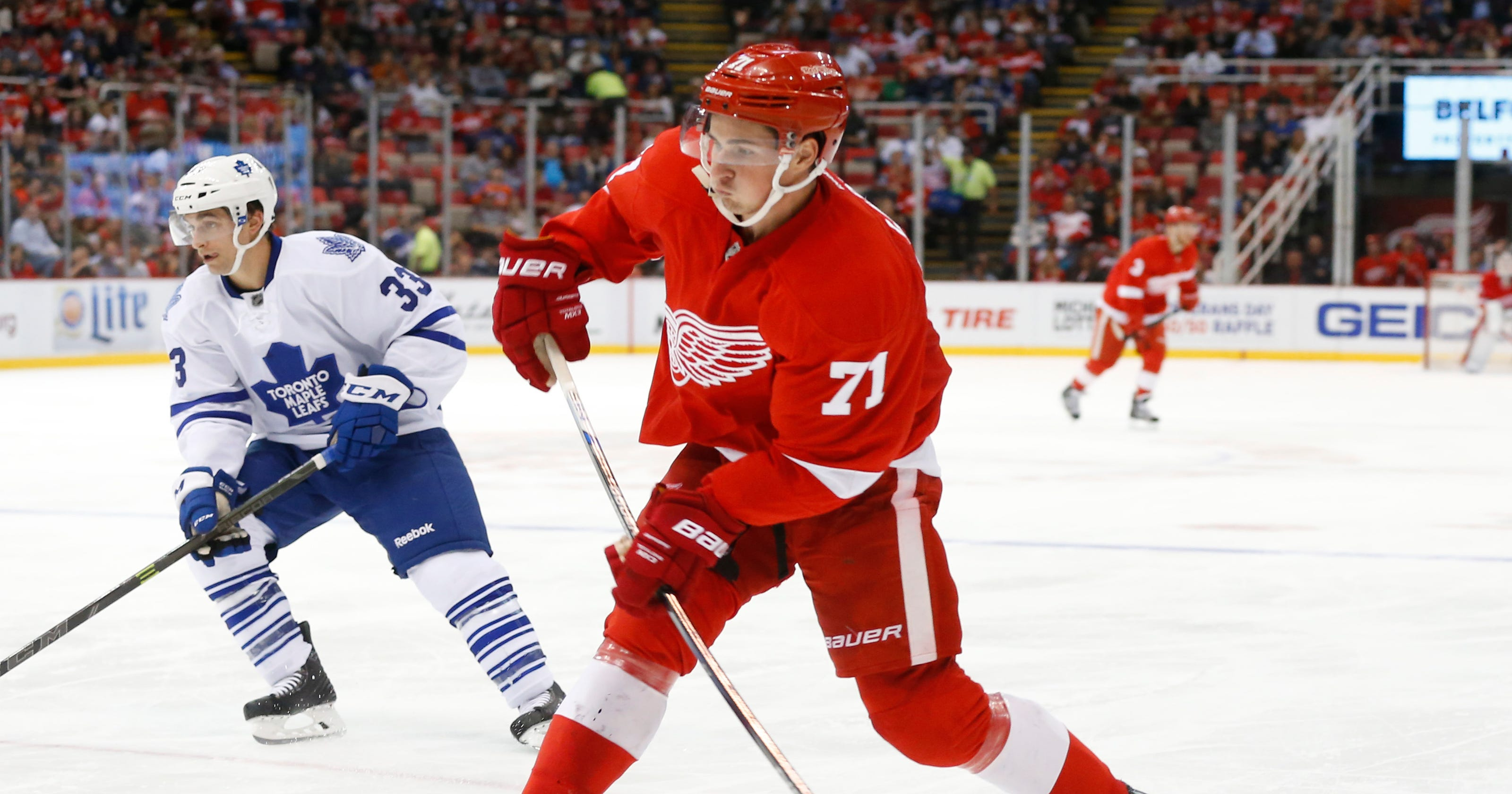 72f35e770 Dylan Larkin tops tough choices for Red Wings