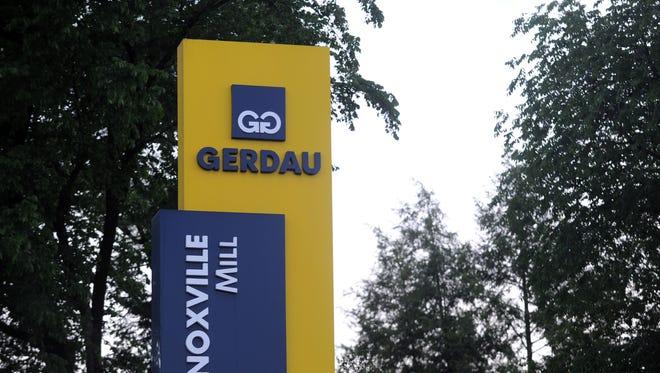 Gerdau's Ameristeel Mill in Knoxville.
