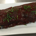 Barbecue ribs made in a crock pot are an easy mid-week meal.