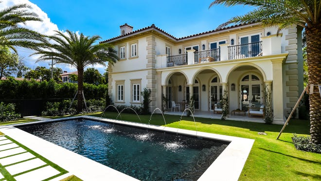 A never-lived-in house developed on speculation at 201 Dunbar Road in Palm Beach failed to sell at auction last month. It's still listed in the local MLS at $12.25 million.