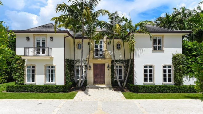 Completed in 2004, a four-bedroom house just changed hands for a recorded $6.7 million at 341 Garden Road. The house is three lots west of the lakefront and about a quarter-mile north of the Palm Beach Country Club.