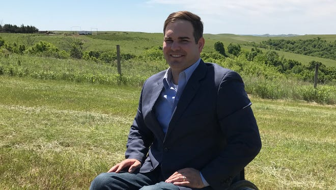 Billie Sutton announced he is running for governor Wednesday from his ranch near Burke.