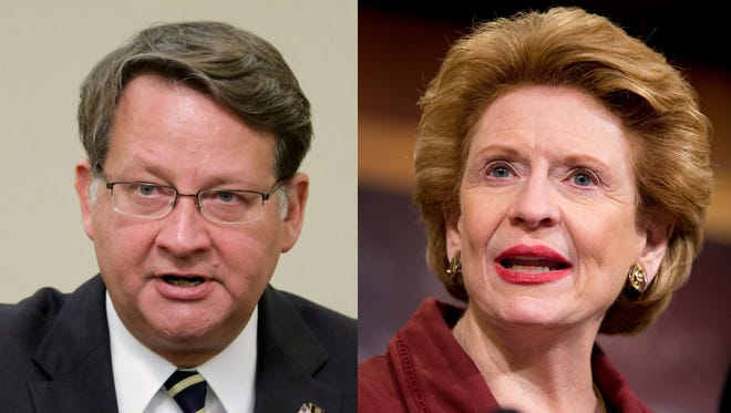 Sens. Gary Peters and Debbie Stabenow.