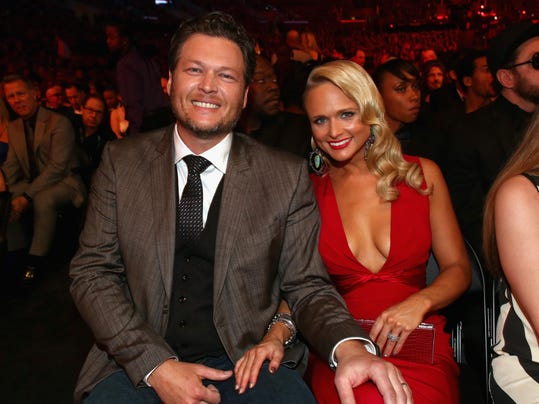 FILE: Blake Shelton And Miranda Lambert File For Divorce 56th GRAMMY Awards - Backstage And Audience
