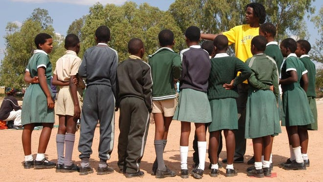 Grassroot Soccer (GRS) is a nonprofit organization that trains young adults from the local community to teach a curriculum consisting of soccer-based activities that show kids how to avoid contracting and spreading HIV, which causes AIDS.