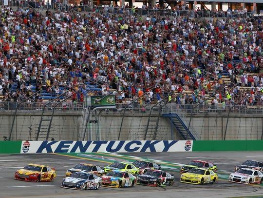 NASCAR Racing at Kentucky Speedway, credit: Kentucky