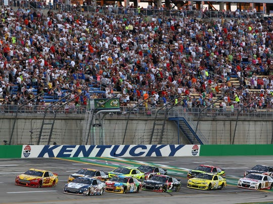 NASCAR Racing at Kentucky Speedway, credit: Kentucky