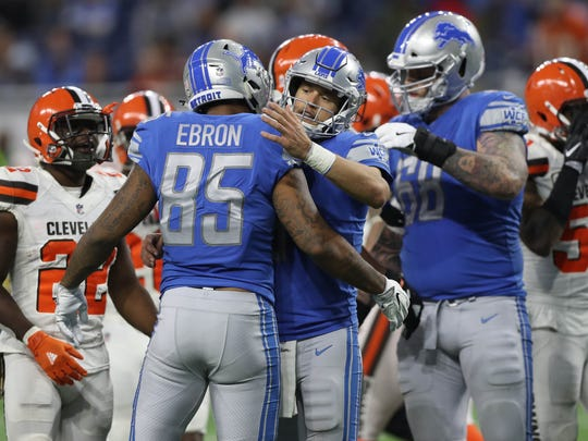 Nov. 12, 2017: The Lions actually trailed the winless