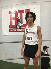 Jeremy Hernandez, a senior miler at Ramapo College,