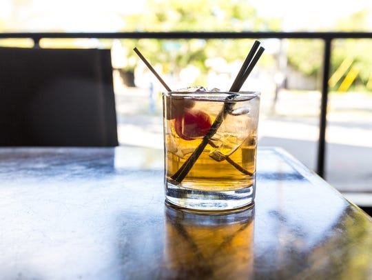 The SoulBoxer from the Bubbler Old Fashioned at Drink